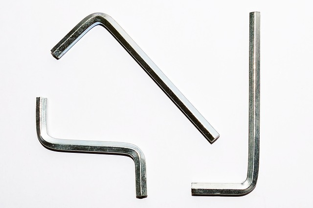 three allen wrenches