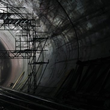 shadowy tunnel, unfinished